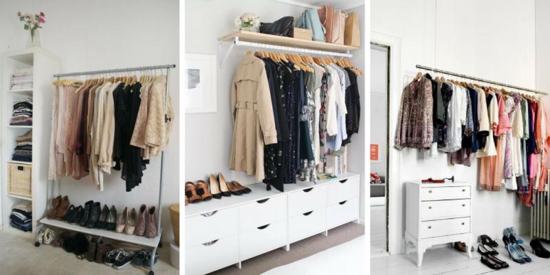 closet aberto móveis