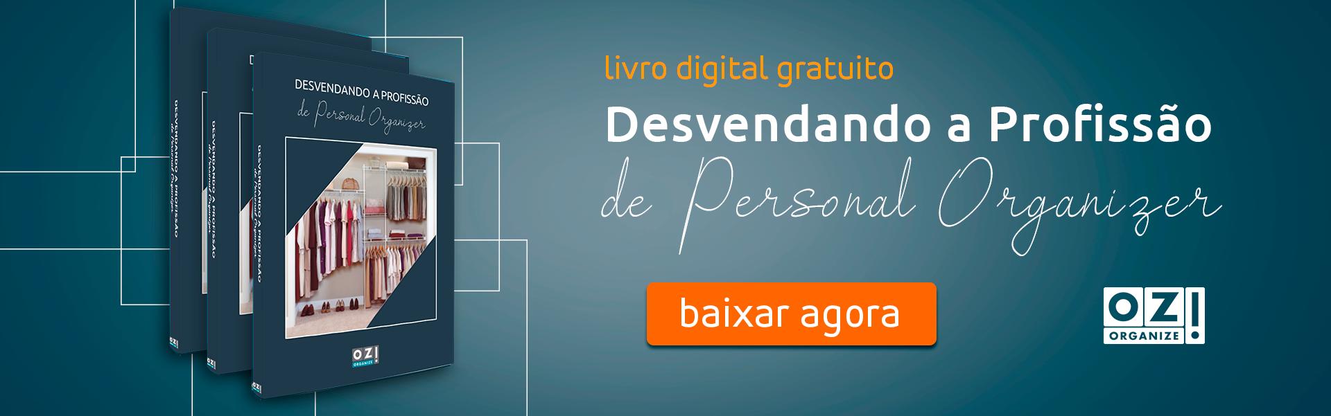 Baixe gratuitamente o Livro Digital 'Desvendando a Profissão de Personal Organizer'